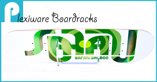 Playboard Plexiware board racks